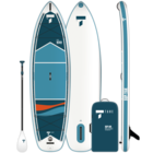 "Tahe Outdoors Tahe Air Beach Inflatable SUP-YAK 10'6""Pack"