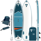 "Tahe Outdoors Tahe Air Beach Inflatable SUP-YAK + Kayak Kit 10'6""Pack"