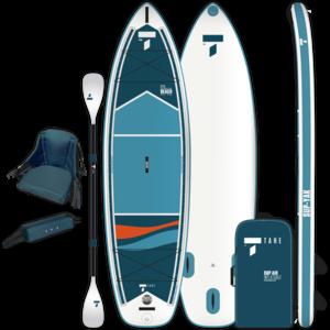 "Tahe Outdoors Tahe Air Beach Inflatable SUP-YAK + Kayak Kit 10'6"""