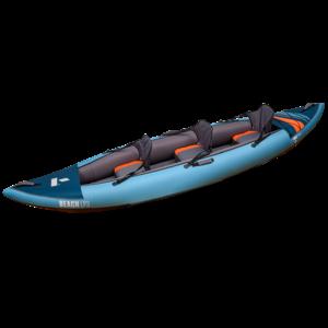 "Tahe Outdoors Tahe Beach LP3 Inflatable Kayak 12'6"" Blue"