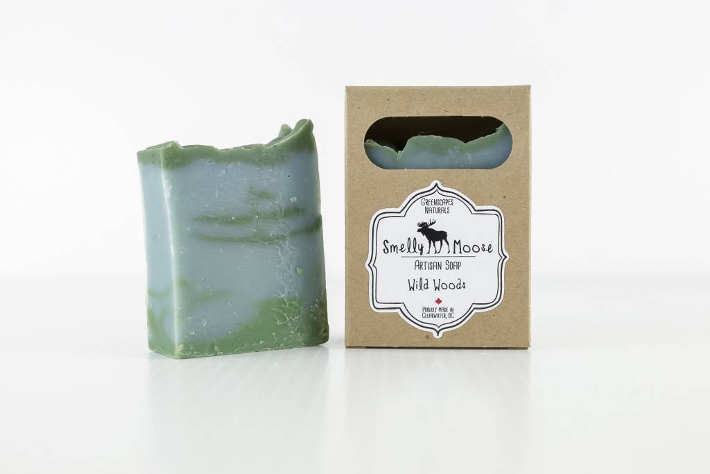 Smelly Moose Soap Wild Woods
