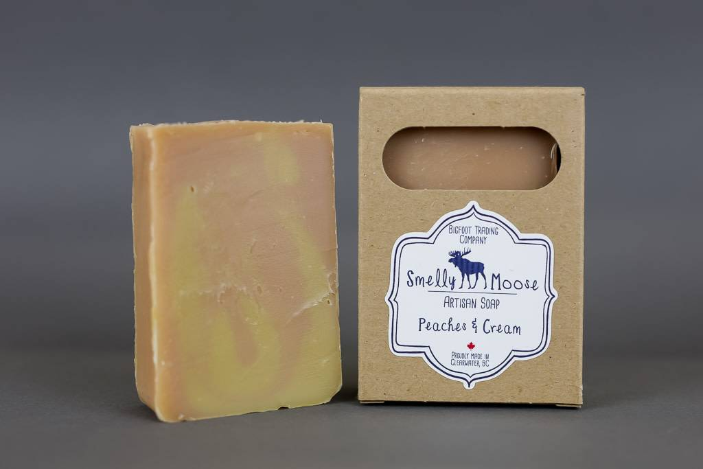 Smelly Moose Soap Peaches & Cream