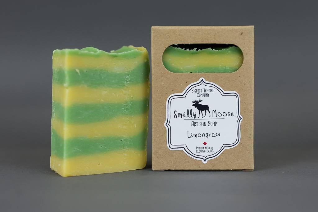 Smelly Moose Soap Lemongrass