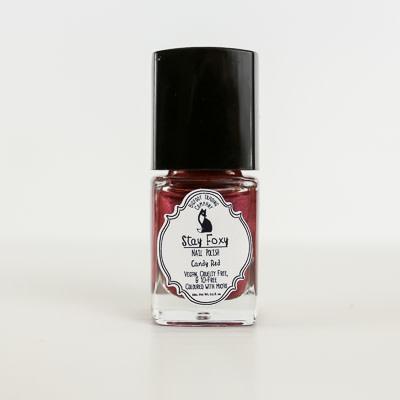Stay Foxy Nail Polish, 0.5oz Candy Red