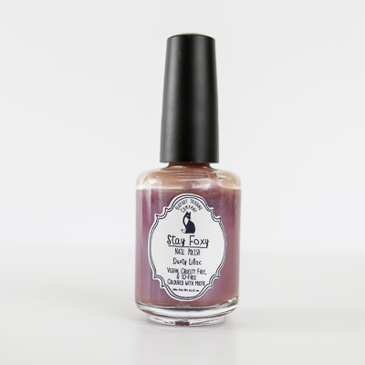 Stay Foxy Nail Polish, 0.5oz Dusty Lilac