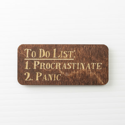 Wood Magnet, To Do List