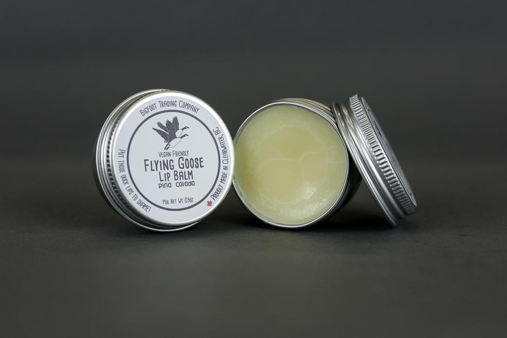 Flying Goose Lip Balm, Jar Vanilla Cream