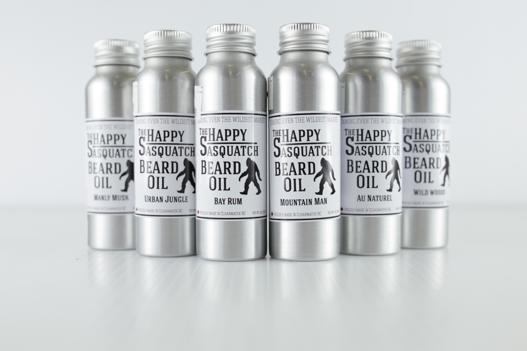 Happy Sasquatch Beard Oil Au Naturel