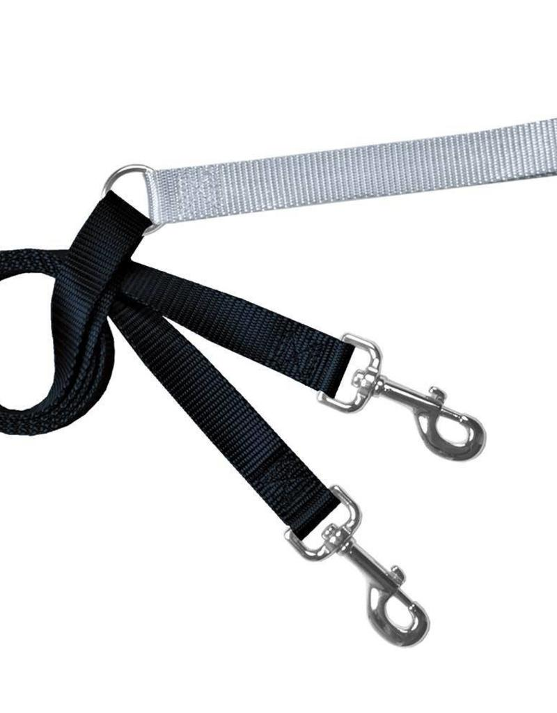 "2 Hounds Design 1"" Freedom Harness and Leash - Black"