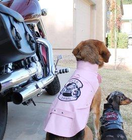 Doggie Design Biker Dawg Motorcycle Dog Jacket