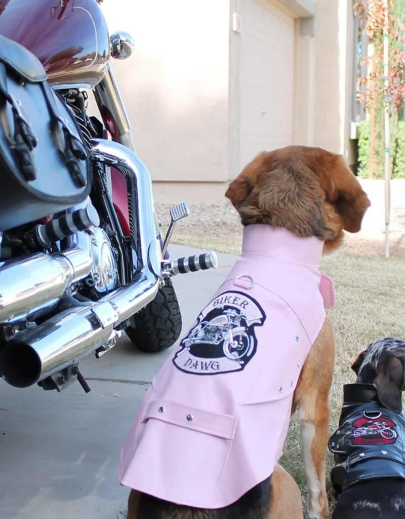 Doggie Design Biker Dawg Motorcycle Dog Jacket