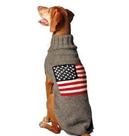 Chilly Dog Chilly Dog American Flag Sweater