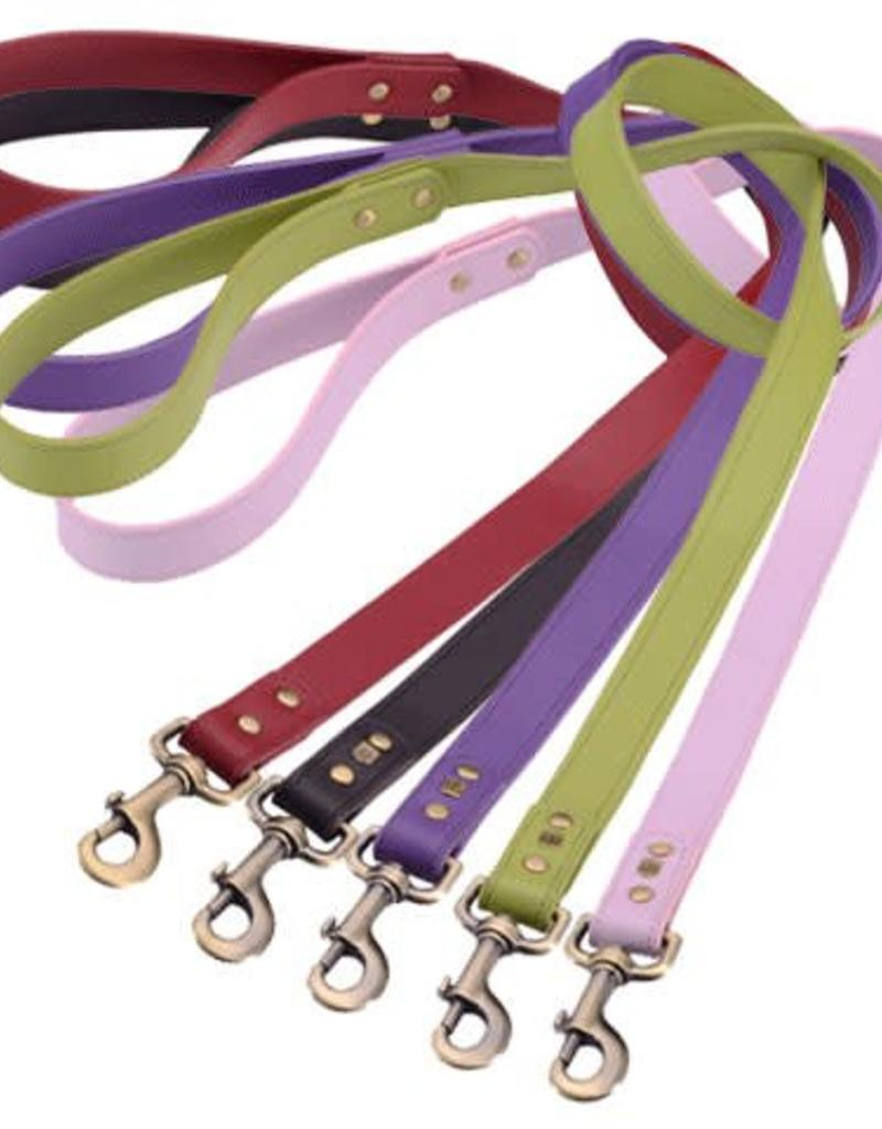 Dosha Dog Inc. Plain Leather Leash
