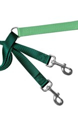 "2 Hounds Design 1"" Freedom Harness and Leash - Kelly Green"