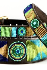 The Kenyan Collection Kenyan Collection Collar - Peacock
