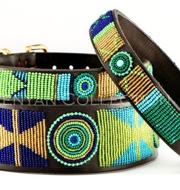 The Kenyan Collection Kenyan Collection Collar - Peacock