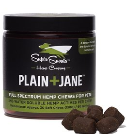 Super Snouts Hemp Company Plain+Jane Full Spectrum Hemp Chews (30 count)