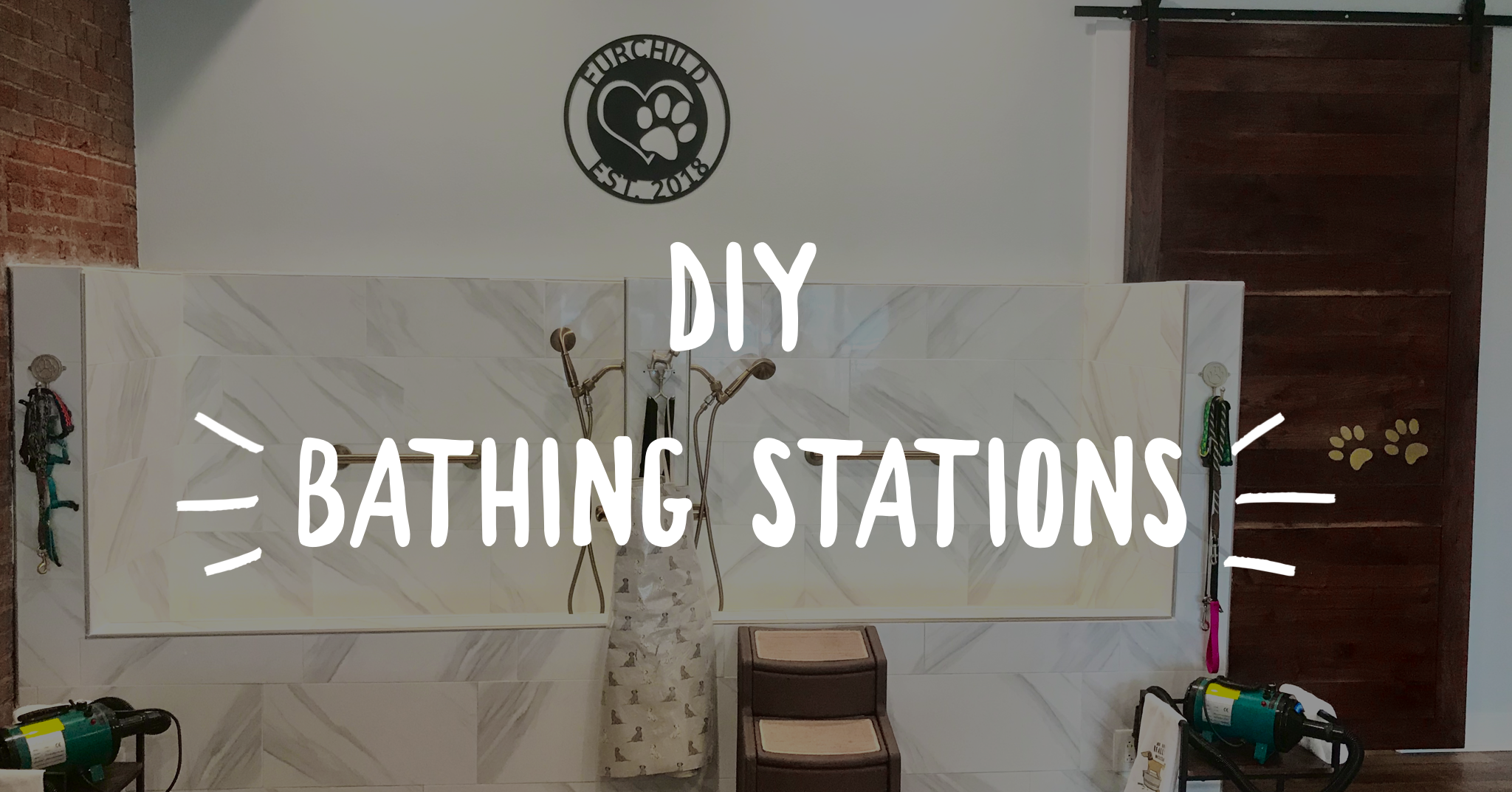 DIY Bathing Stations