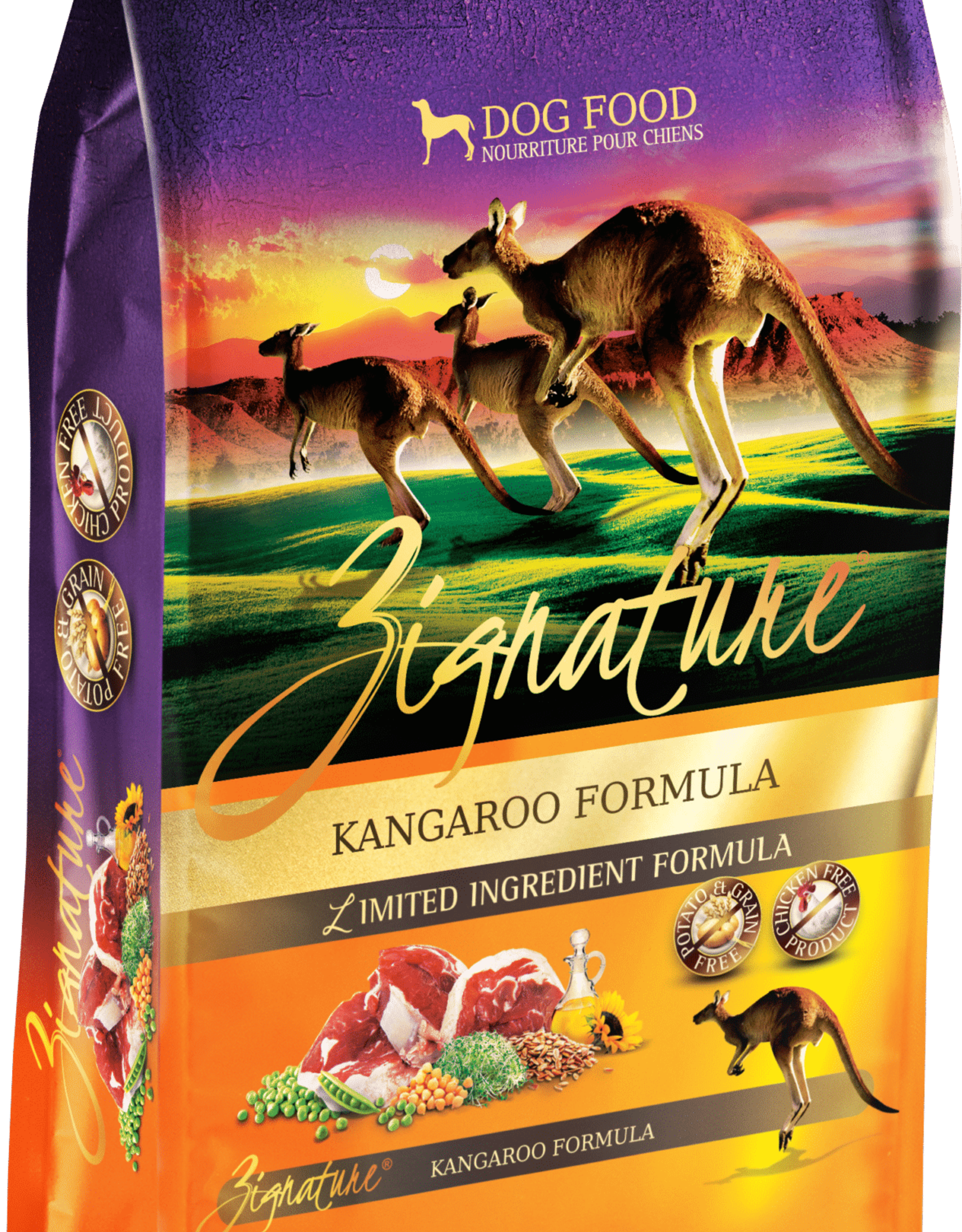 Zignature Zignature Kangaroo Dog Food
