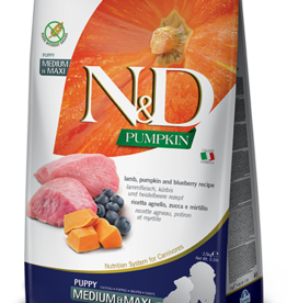 Farmina N&D Pumpkin GF Dog Food Puppy Lamb & Blueberry