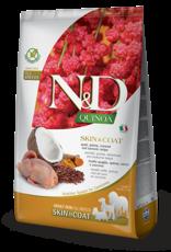 Farmina N&D Quinoa GF Skin & Coat Adult Dog Food Quail 15.4 lbs
