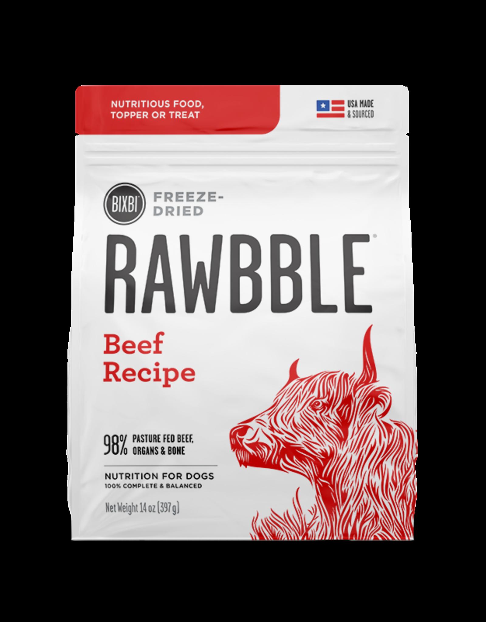 Bixbi Bixbi Rawbble Beef
