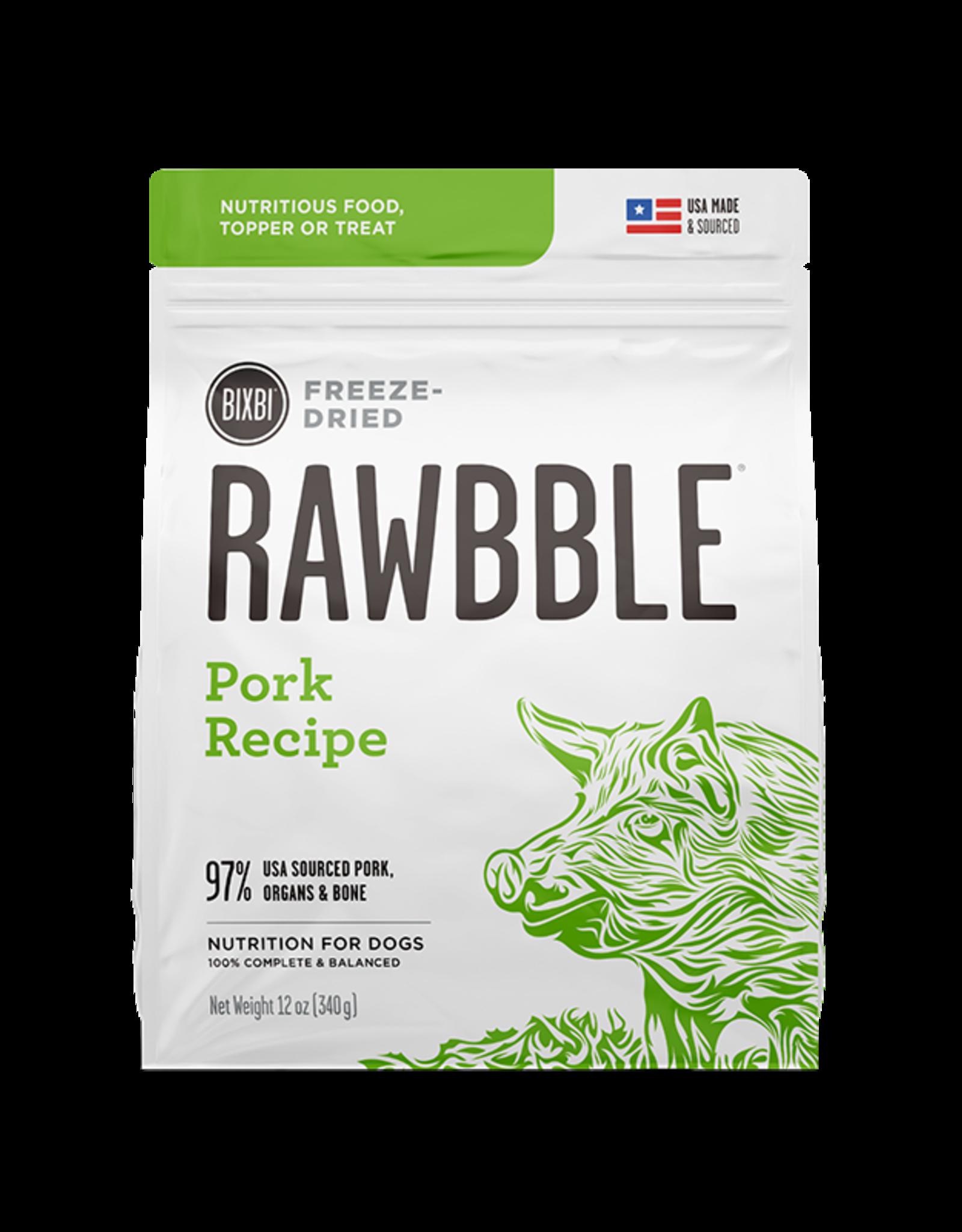 Bixbi Bixbi Rawbble Pork