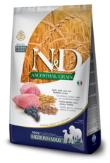 Farmina N&D Ancestral Grain Lamb & Blueberry Dog Food