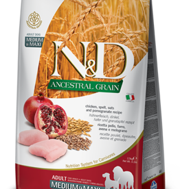 Farmina N&D Ancestral Grain Chicken & Pomegranate Dog Food