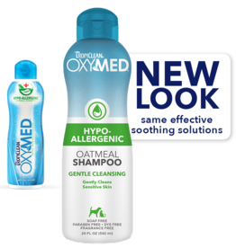 Tropiclean Tropiclean OxyMed Hypoallergenic Shampoo - 20oz.