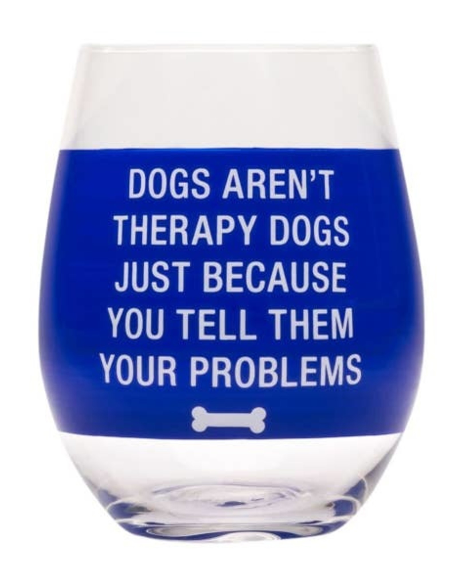 About Face Designs About Face Designs Wine Glass Therapy Dogs