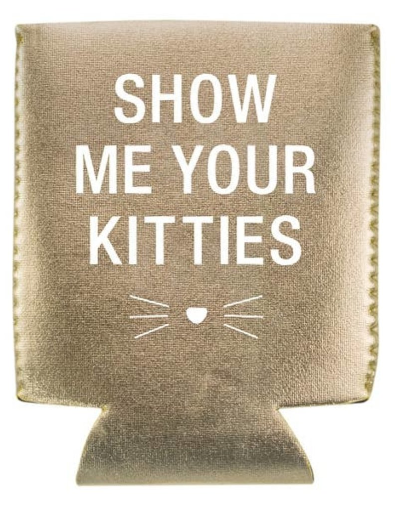 About Face Designs About Face Designs Koozie Show Me Your Kitties