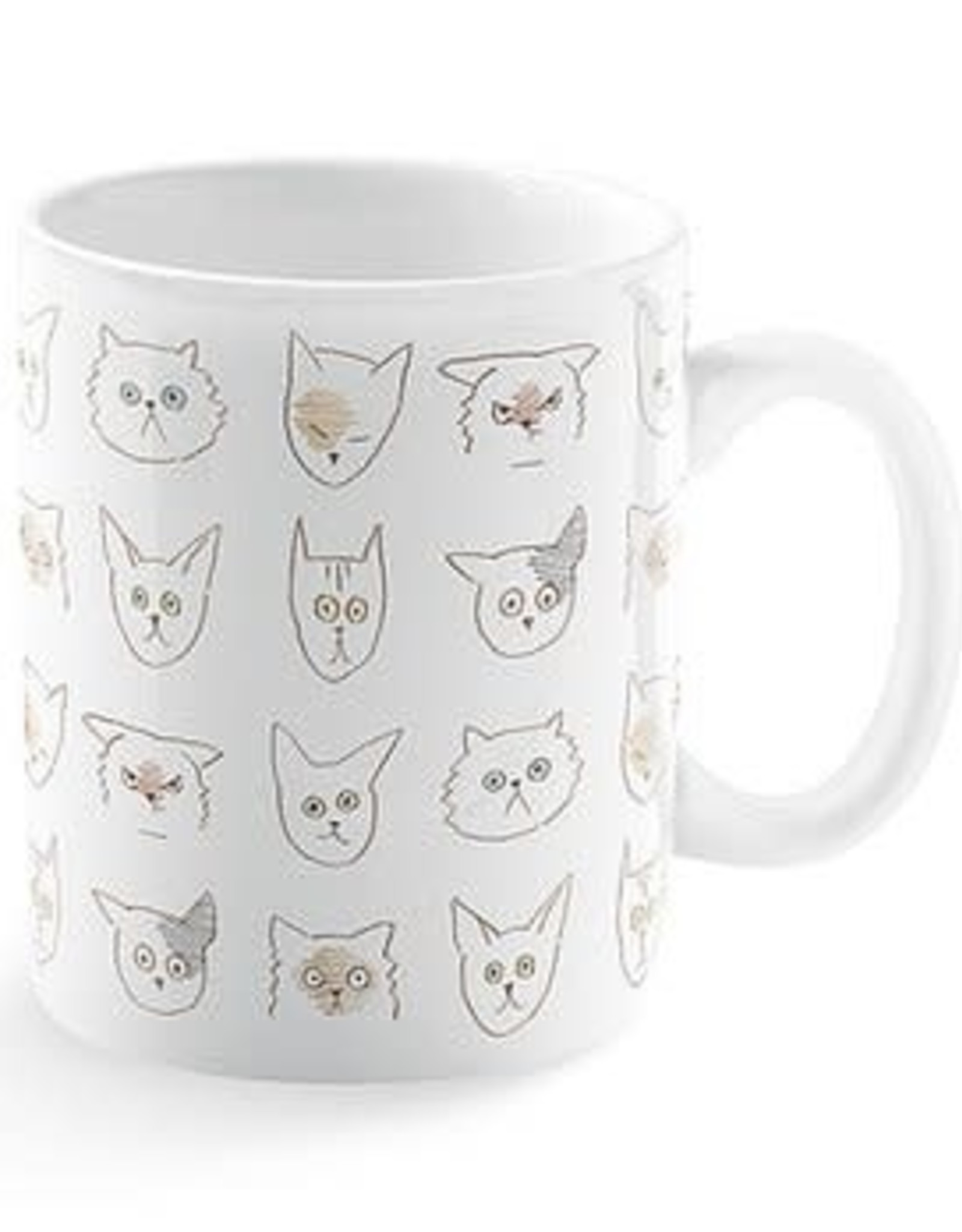 Pet Shop by Fringe Studio Doodle Cat Montana Mug
