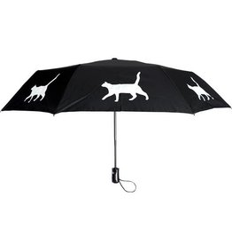San Francisco Umbrella Company SFUC Collapsible Umbrella with Auto Open Cat