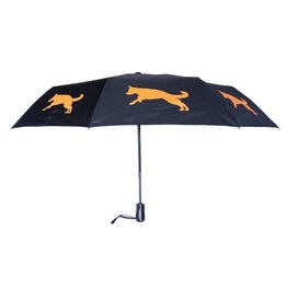 San Francisco Umbrella Company SFUC Collapsible Umbrella with Auto Open German Shepherd