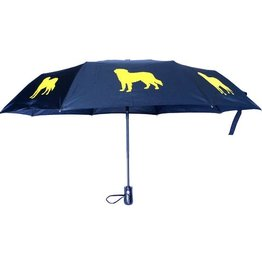San Francisco Umbrella Company SFUC Collapsible Umbrella with Auto Open Golden Retriever