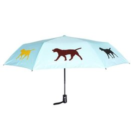 San Francisco Umbrella Company SFUC Collapsible Umbrella with Auto Open Labrador Retriever