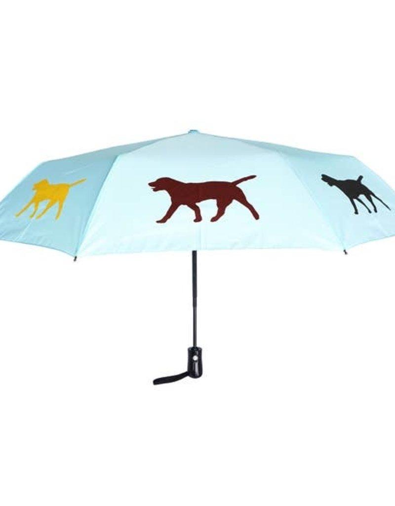 San Francisco Umbrella Company SFUC Collapsible Umbrella with Auto Open Labrador Retriever