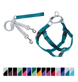 """2 Hounds Design 5/8"""" Freedom Harness and Leash"""