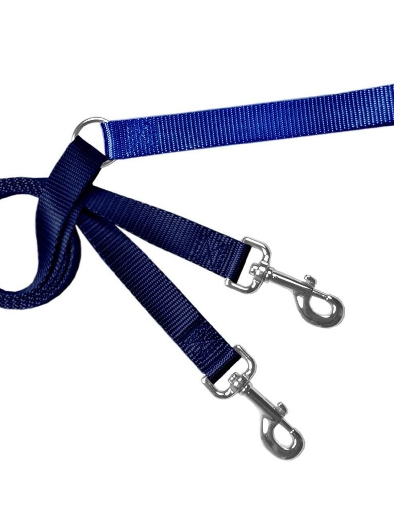 "2 Hounds Design 1"" Freedom Harness and Leash - Navy"