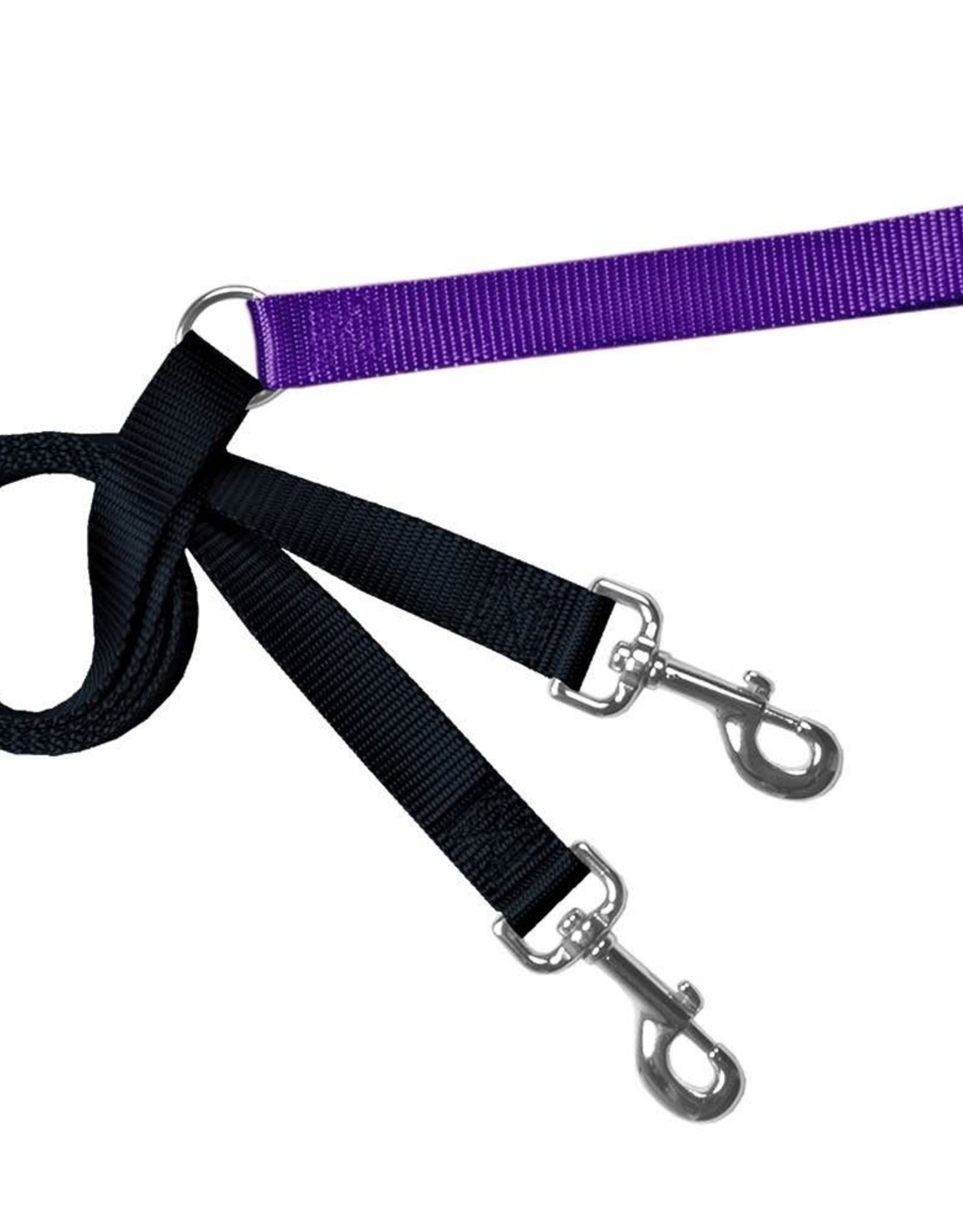 "2 Hounds Design 1"" Freedom Harness and Leash - Purple"
