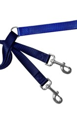 """2 Hounds Design 1"""" Freedom Harness and Leash - Royal Blue"""