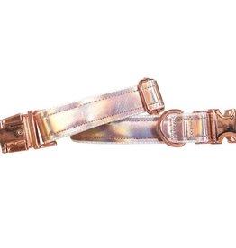 Woof & Wonder Unicorn Shimmer Vegan Leather Collar
