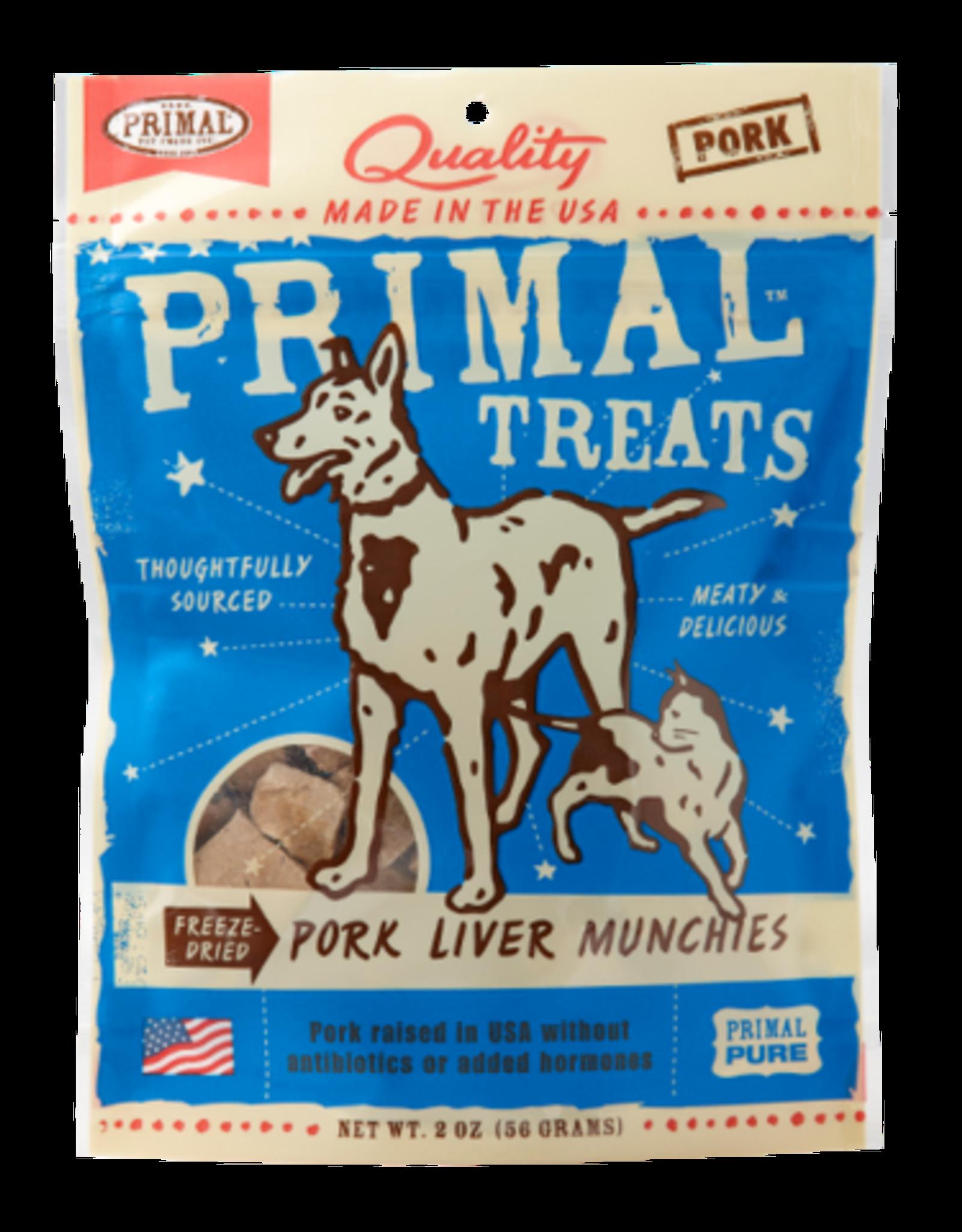 Primal Primal Pork Liver Munchies