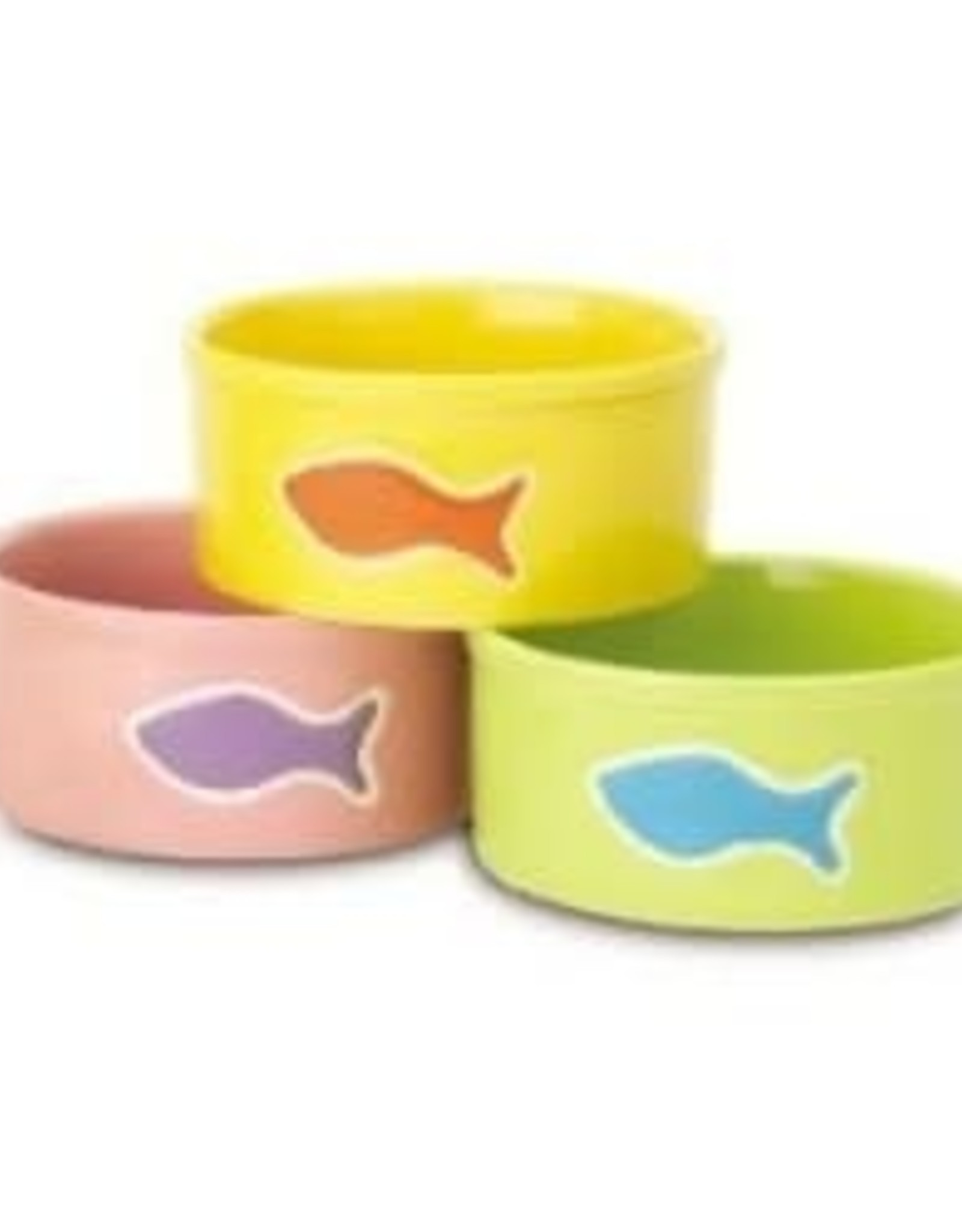 Petrageous Designs Ltd. Teeny Tiny Fishes Cat Water Dish 2 Cup