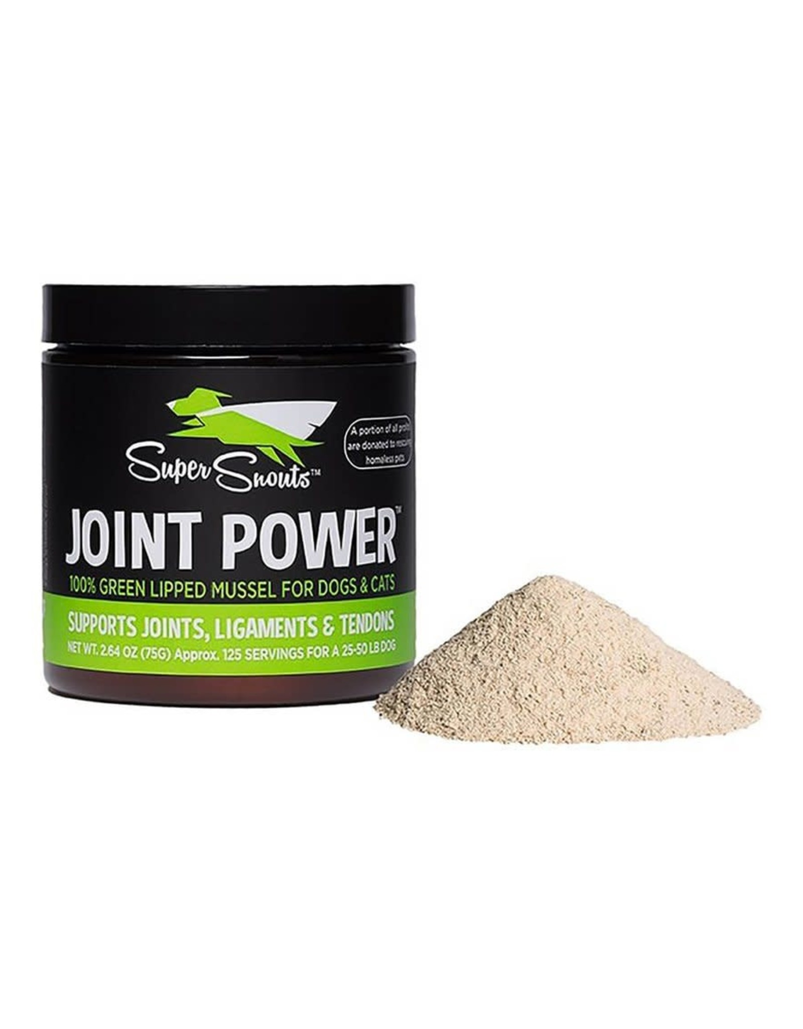 Diggin Your Dog Super Snouts Joint Power 100% New Zealand Green Lipped Mussel Joint Support - 75g