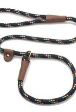 """Mendota Pet Mendota Pet Slip Lead 1/2"""" Black Confetti 6 ft"""