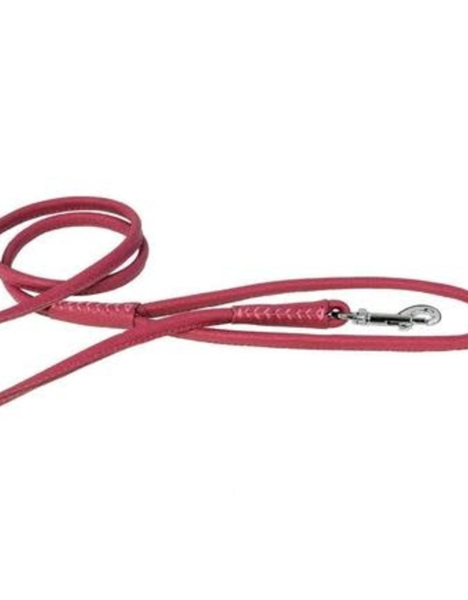 Dogline Dogline Pink Leather Lead