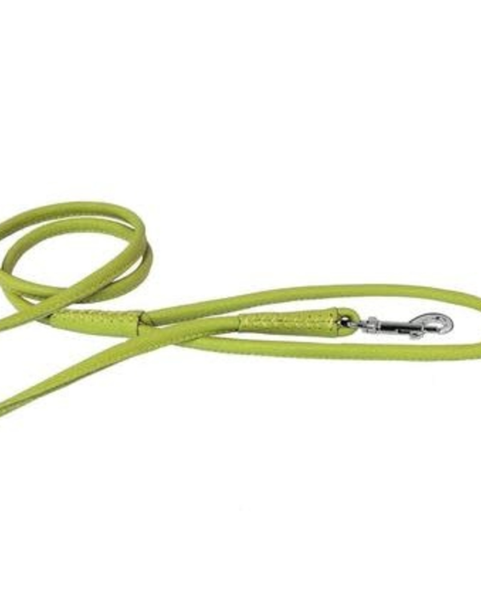 "Dogline Dogline 1/2"" Lime Green Leather Lead"