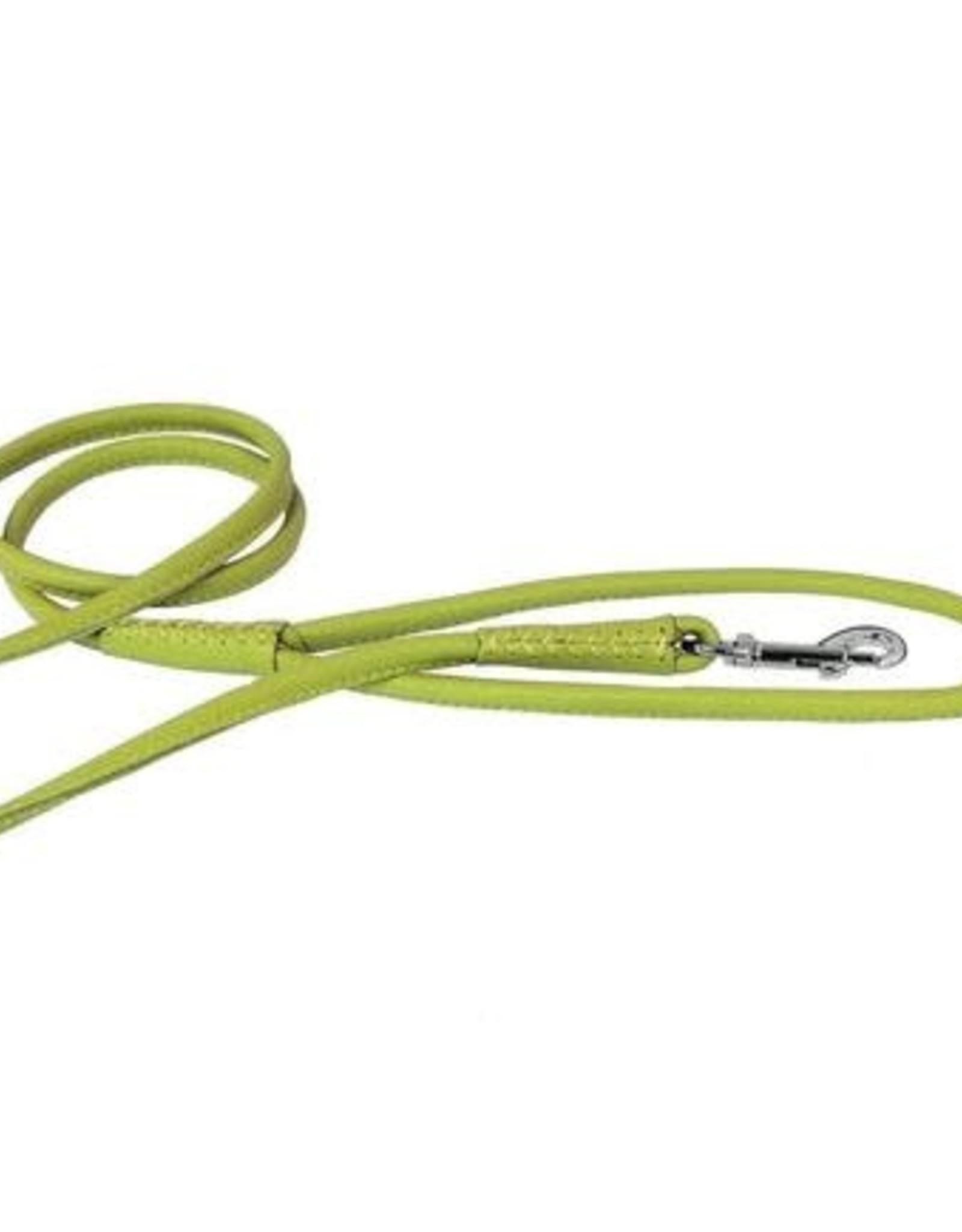 "Dogline Dogline Lime Green 1/2"" Leather Lead"